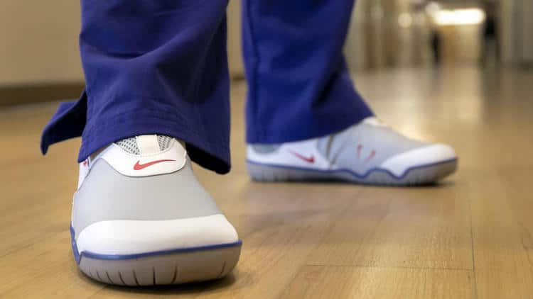 Donación a hospitales de Nike Air Zoom Pulse