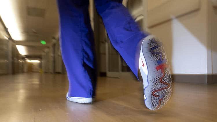 Nike Air Zoom Pulse donados a hospitales