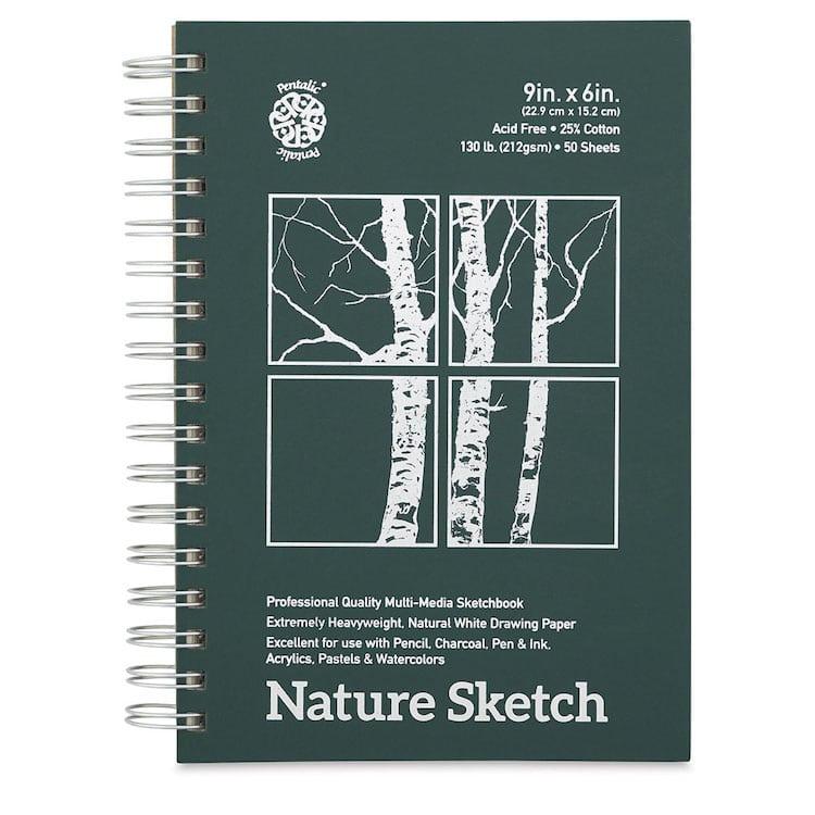 Pentalic Nature Sketchbook