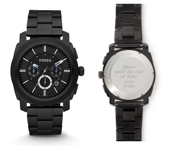 Personalized Father's Day Watch