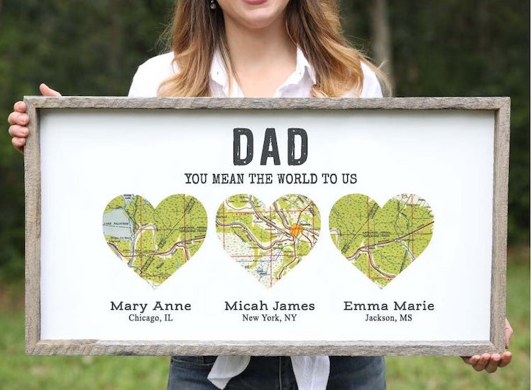 Personalized Father's Day Wall Art