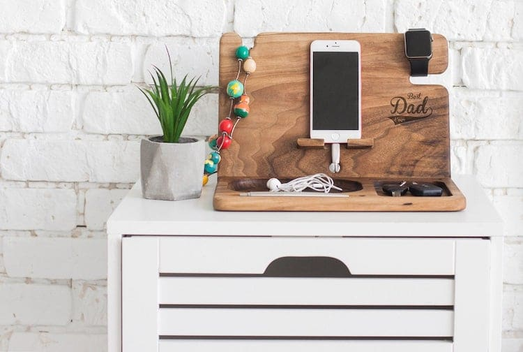 Personalized Charging Station for Dad