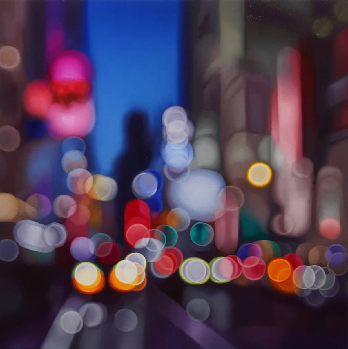 Abstract Paintings by Philip Barlow