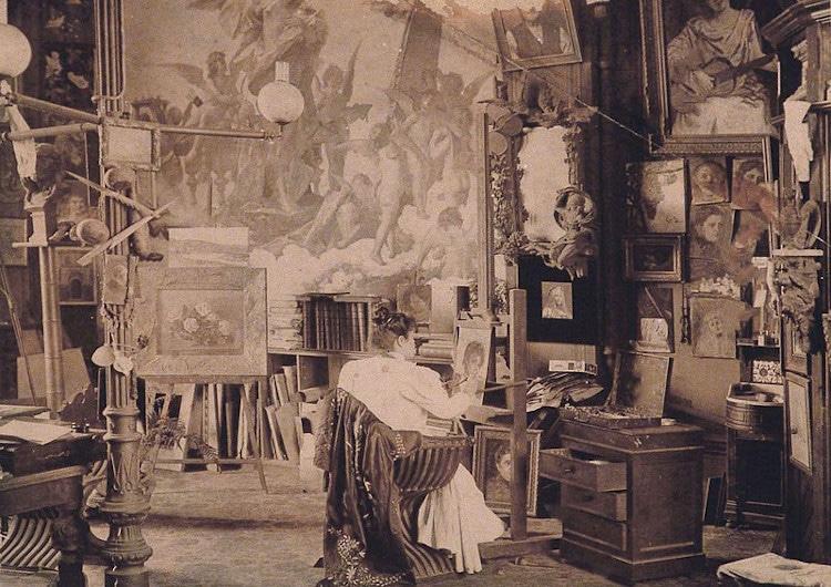 pintores argentinos Eugenia Belín Sarmiento