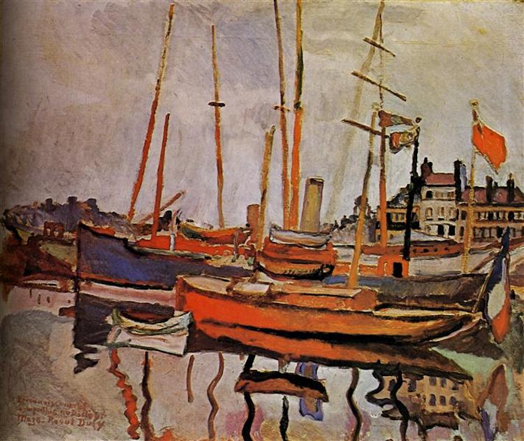 Raoul Dufy, The Port of Le Havre