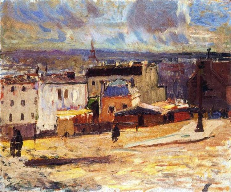 Raoul Dufy, View of Paris from Montmartre