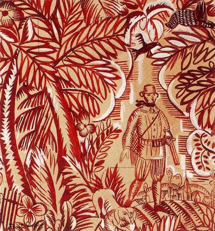 Raoul Dufy Fabric Design