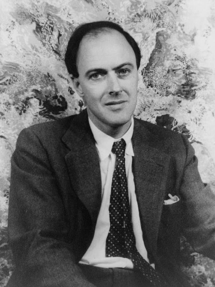 Roald Dahl Portrait
