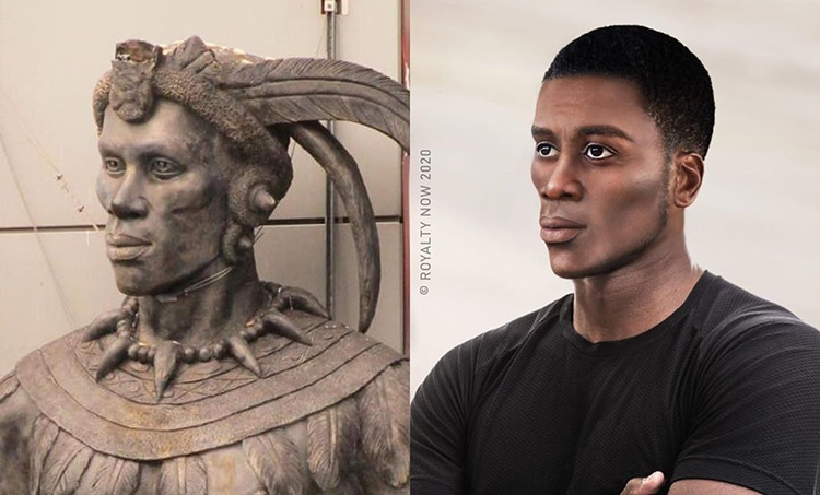 Zulu Man Reimagined as Modern-Day Figure by Royalty Now