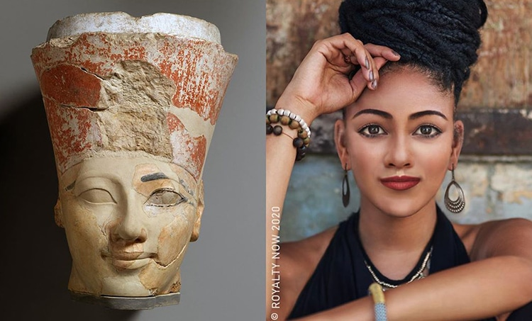Hatshepsut Reimagined as Modern-Day Figure by Royalty Now