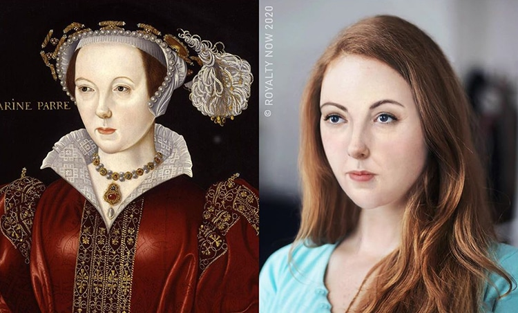 Catherine Parr Reimagined as Modern-Day Figure by Royalty Now