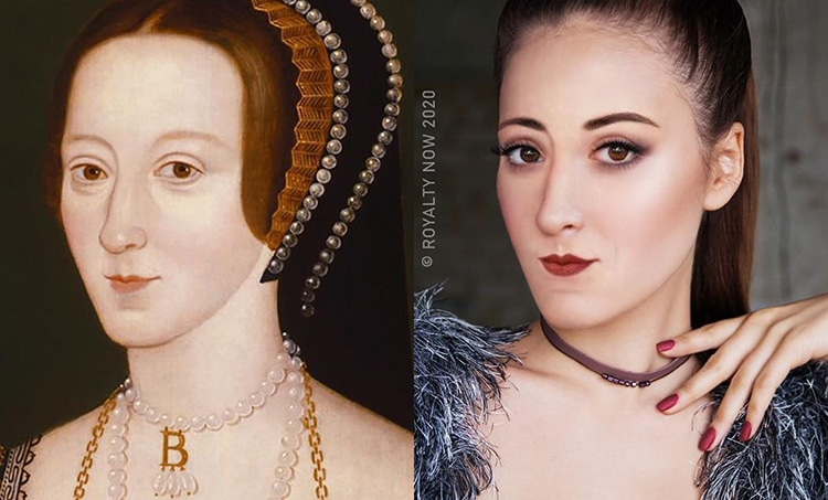 Anne Boleyn Reimagined as Modern-Day Figure by Royalty Now