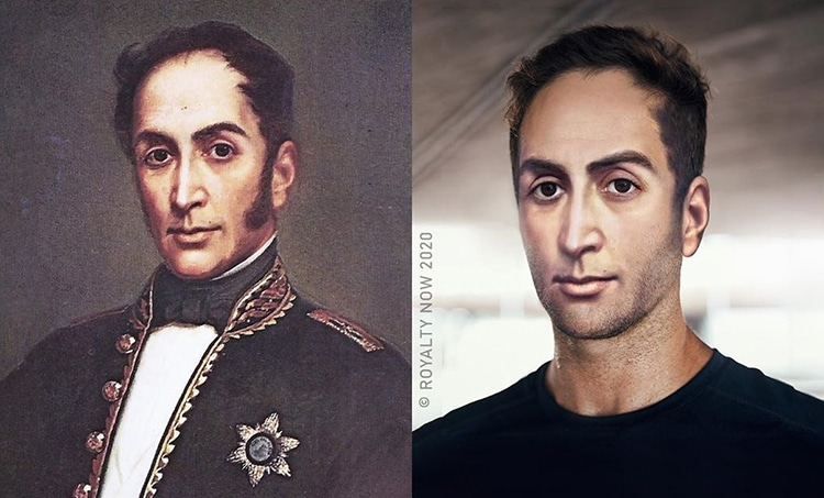 Simon Bolivar Reimagined as Modern-Day Figure by Royalty Now
