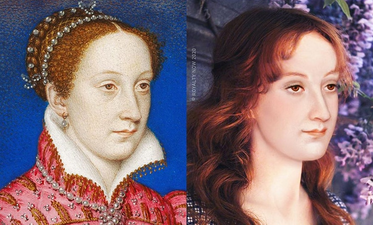 Mary Queen of Scots Reimagined as Modern-Day Figure by Royalty Now