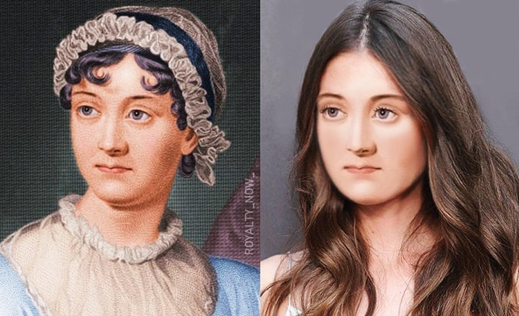 Jane Austen Reimagined as Modern-Day Figure by Royalty Now