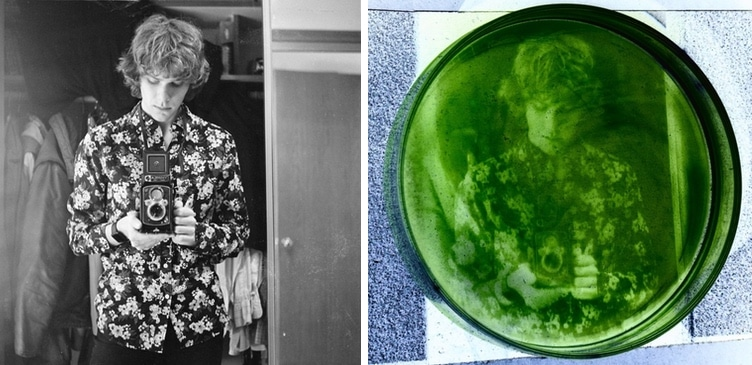Photo Printed in Algae by Russell Marx