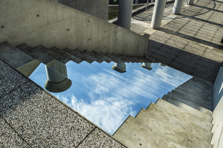 Mirror Installation by Shirin Abedinirad