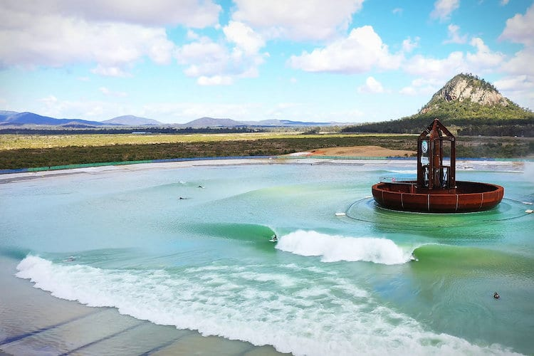 Surf Lakes Wave Pool
