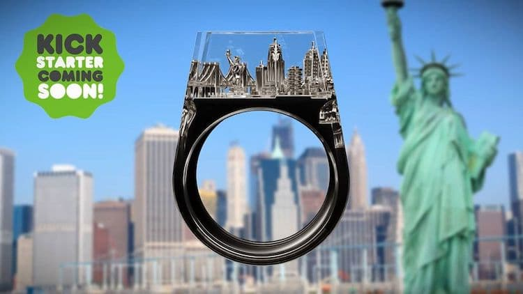 Teti Architecture Ring by Art is Therapy
