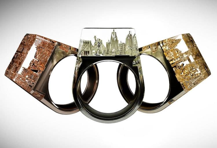 Teti anillo de ciudades por Art is Therapy