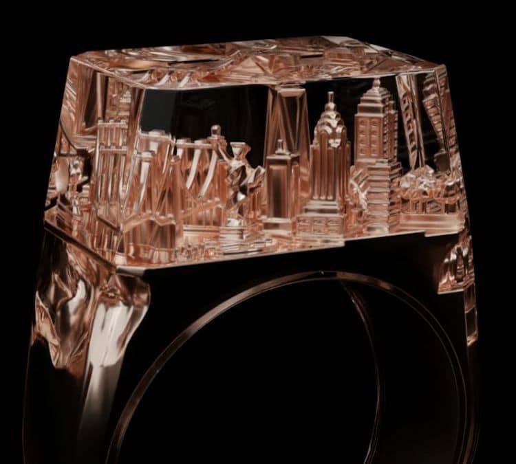 Teti anillo de nueva york Art is Therapy