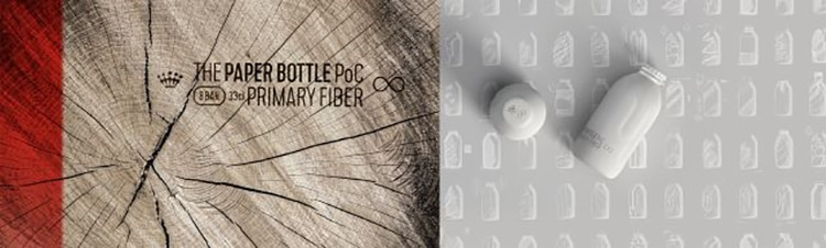 The Paper Bottle Project's Recyclable Prototype