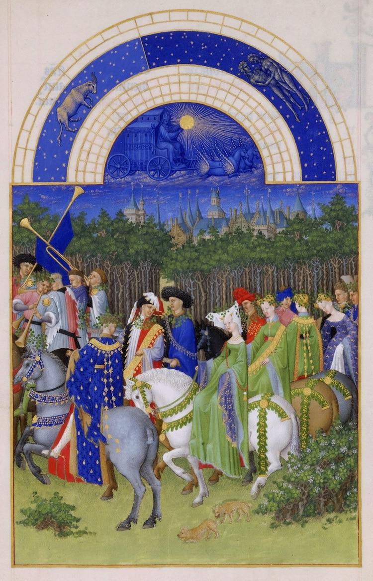 Tres Riches Heures du Duc de Berry January