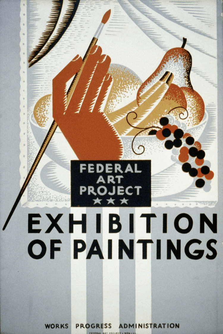 Federal Art Project Poster