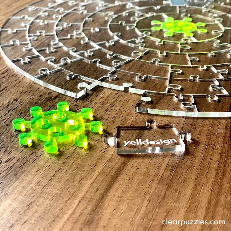 Acrylic Jigsaw Puzzle by Yelldesign