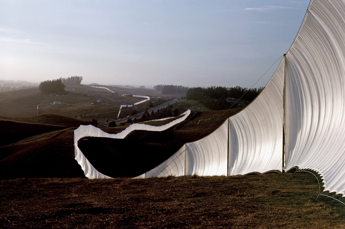 Running Fence Christo y Jeanne-Claude
