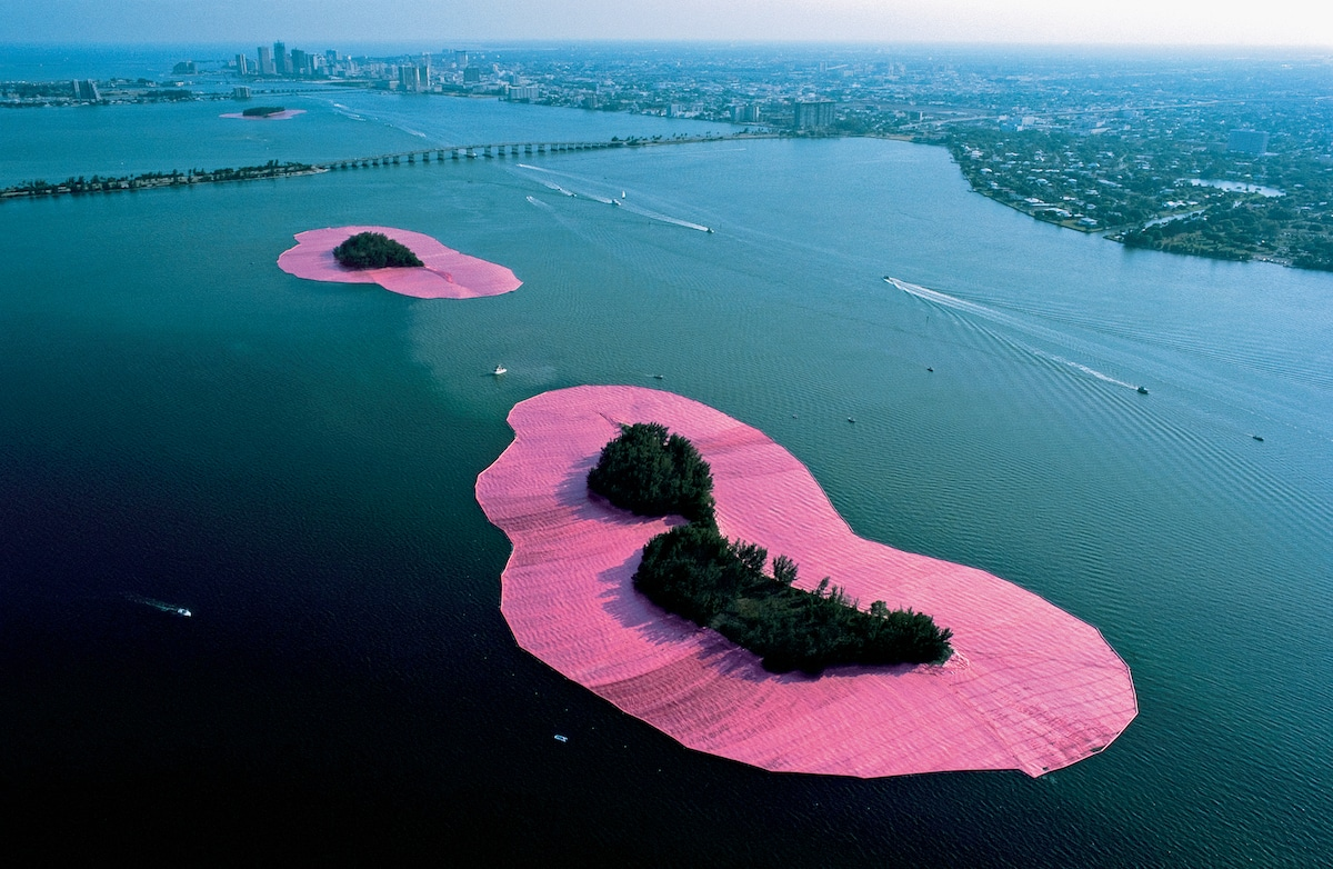 Biscayne Bay Pink Islands Christo