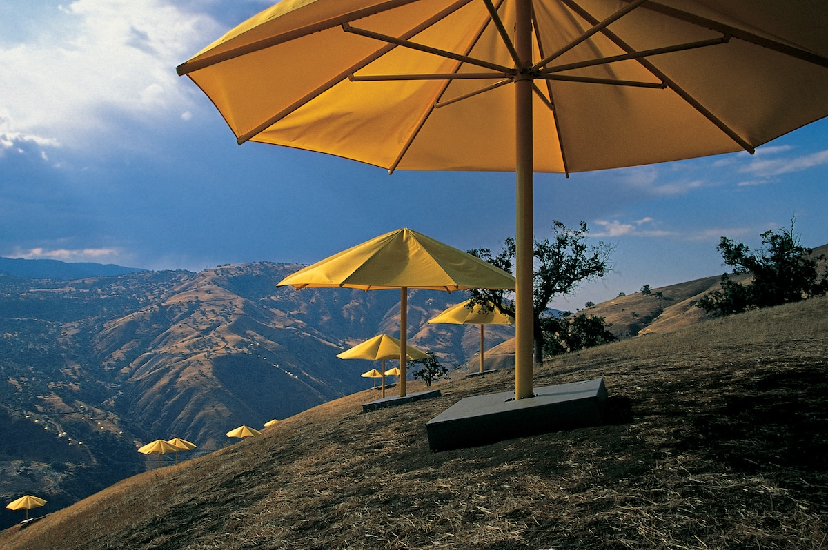 The Umbrellas by Christo and Jeanne-Claude