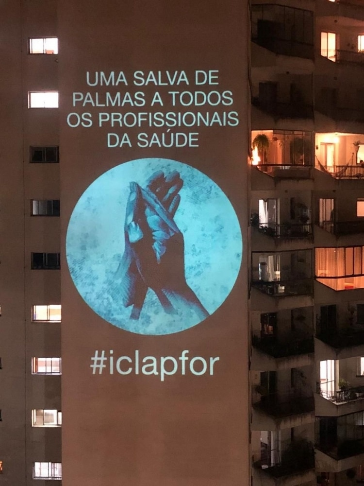 I Clap For Projection in Brazil