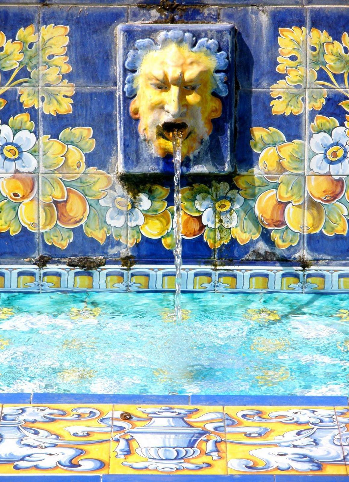 Cerámica en los Jardines del Prado, en Talavera de la Reina (Toledo)