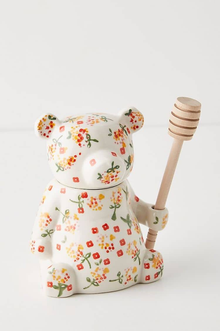 Tarro de miel de oso