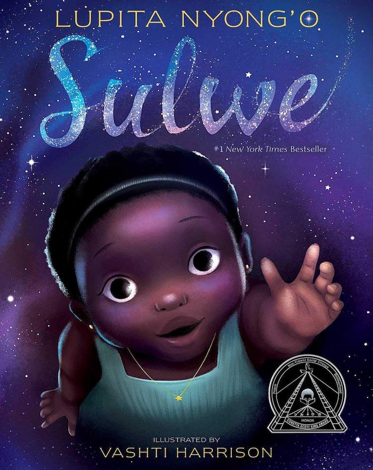 Sulwe written by Lupita Nyong'o and illustrated by Vashti Harrison