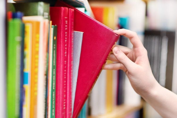 Grabbing a Book