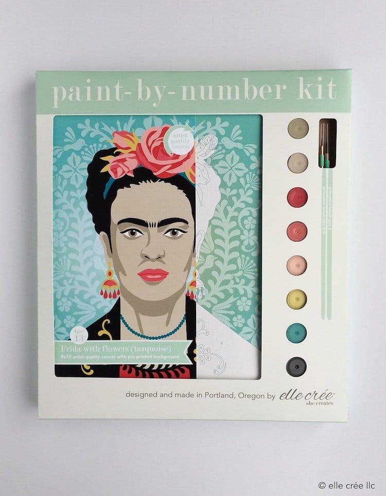 kits de pintar con numeros de Elle Cree
