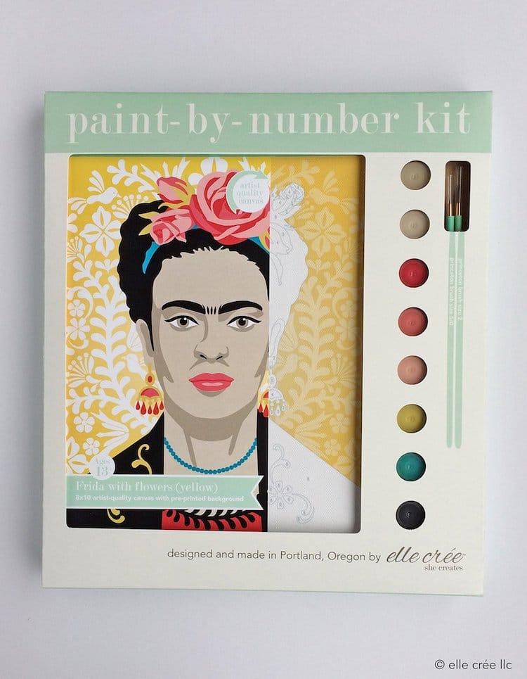 kits de pintar por numeros de Elle Cree