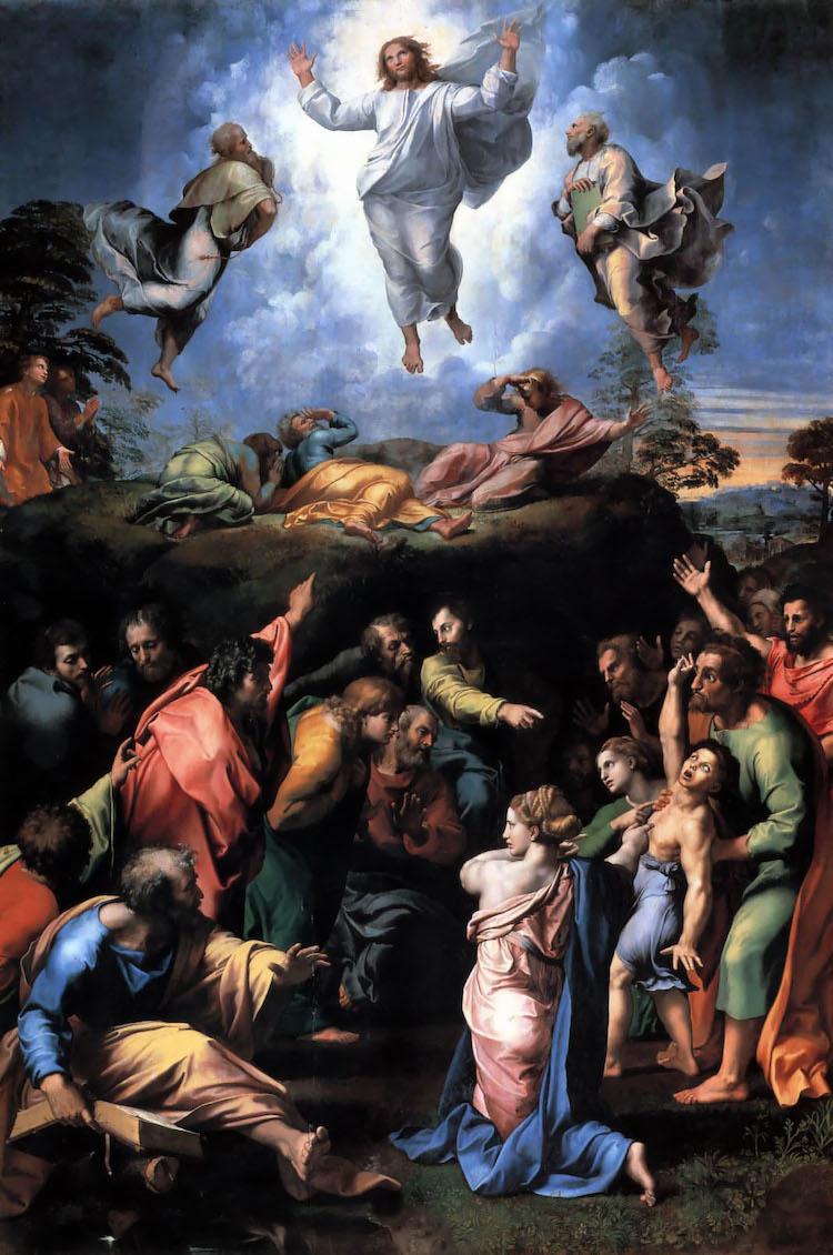 la Transfiguracion by Raphael