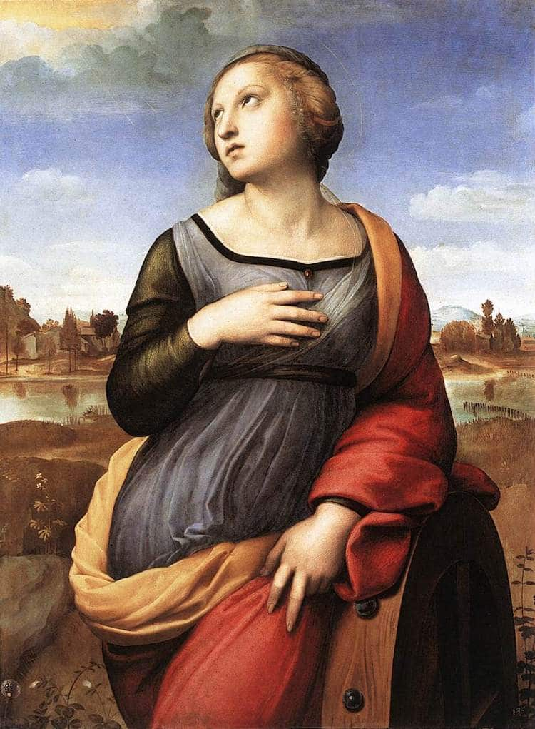 St Catherine of Alexandria by Raphael