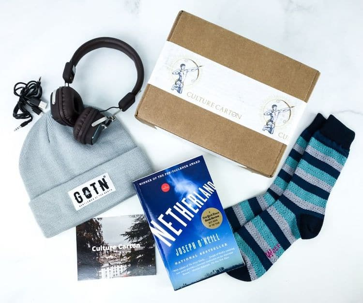 Men's Lifestyle Subscription Box