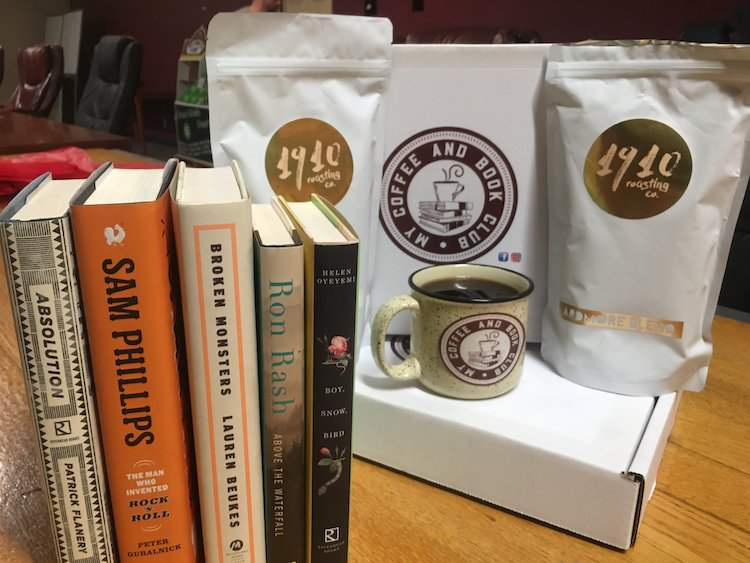 Coffee and Book Subscription Box
