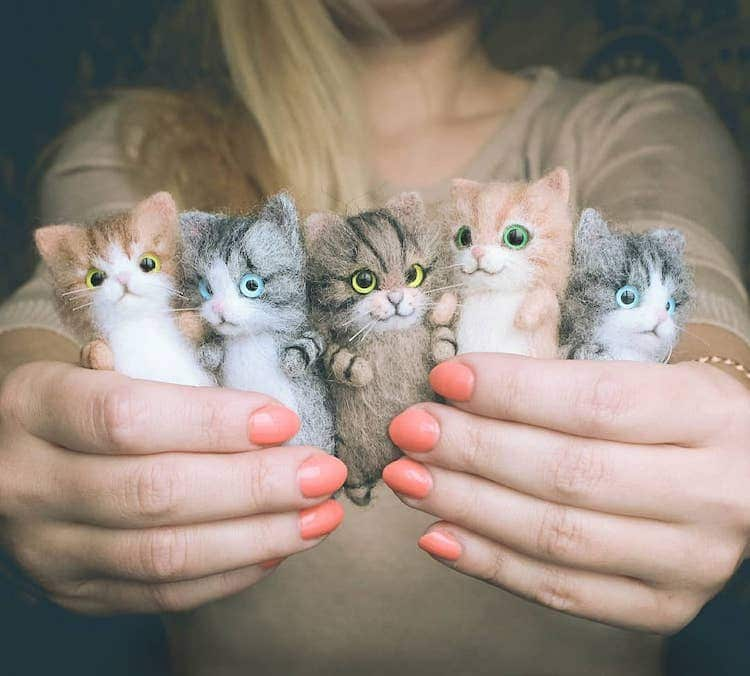 muñeco de gato porElizabeth Delektorskaya