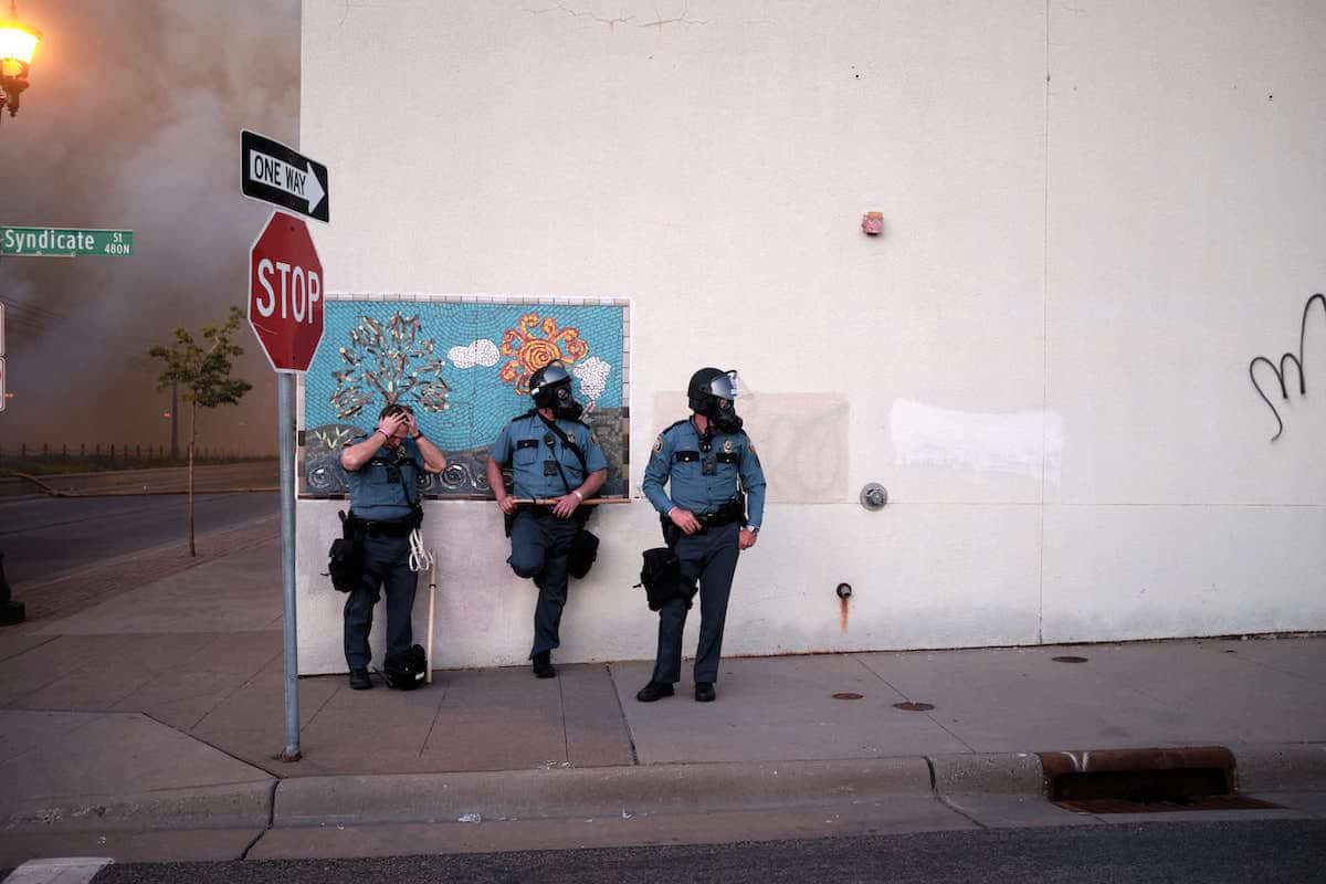 St. Paul Police Officers During George Floyd Protests
