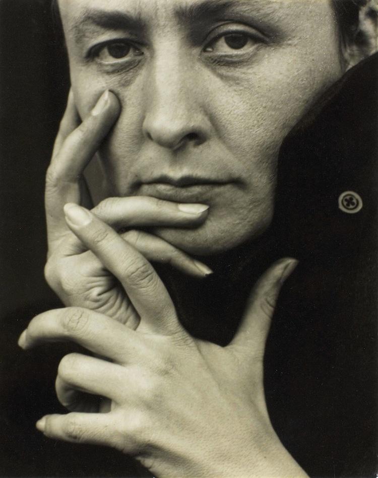 retrato de Georgia O'Keeffe