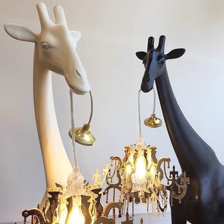 Giraffe Chandeliers by Marcantonio