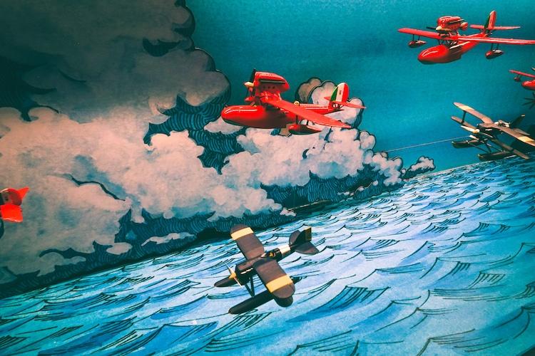 Diorama de Hayao Miyazaki