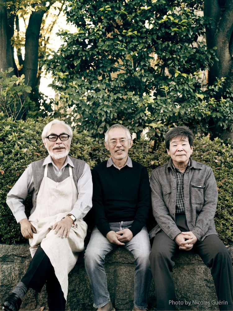 Miyazaki, Suzuki y Takahata