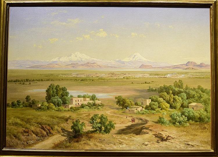 jose maria velasco valle de mexico desde el cerro de guadalupe